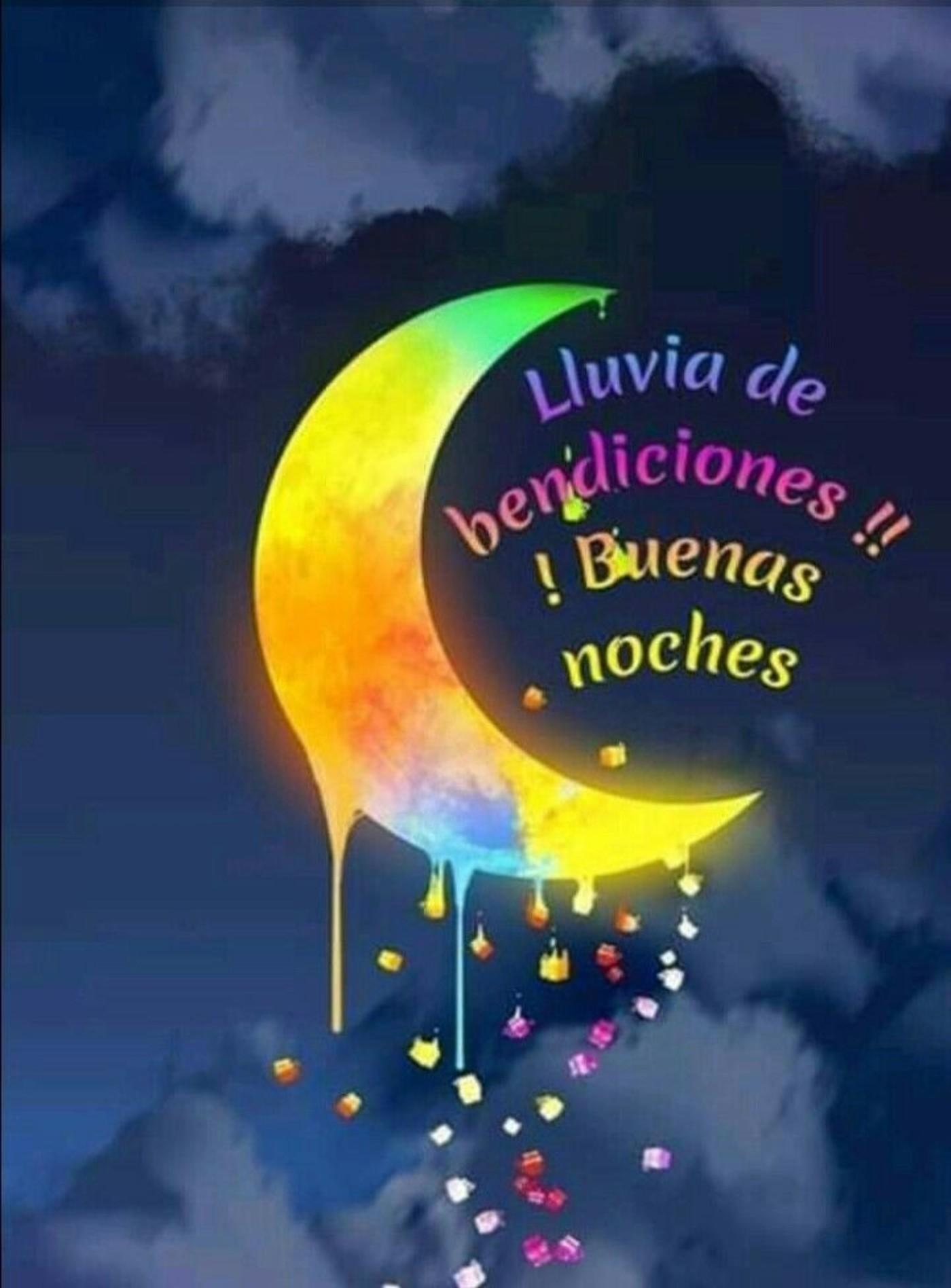lluvia de bendiciones!! Buenas Noches