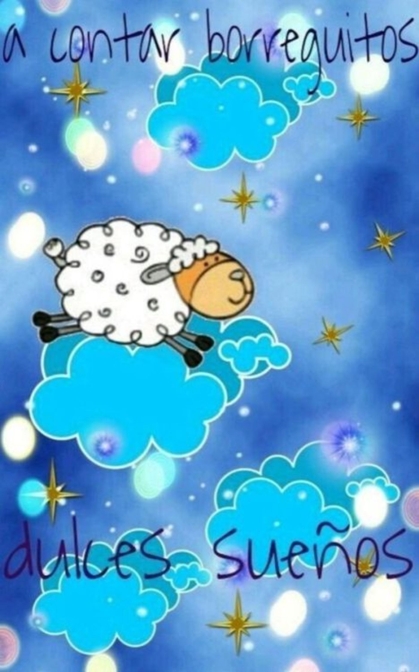 A contar borreguitos, dulce sueños