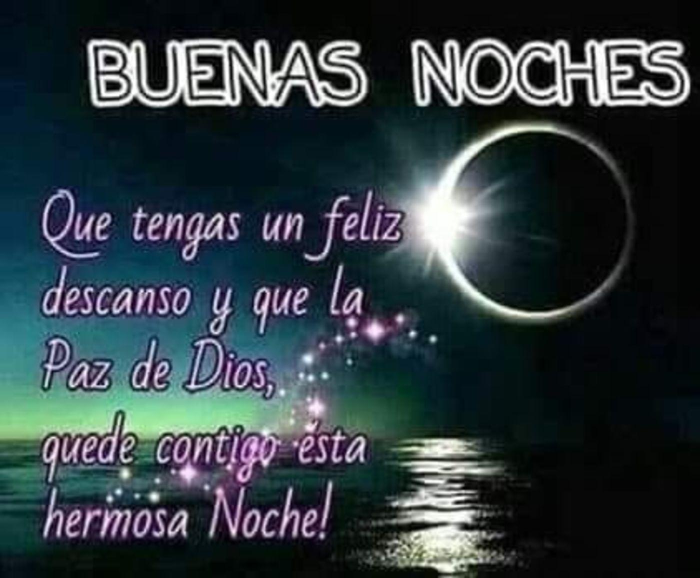 Buenas noches que tengas un feliz descanso y que la paz de Dios, quede contigo esta hermosa noche!