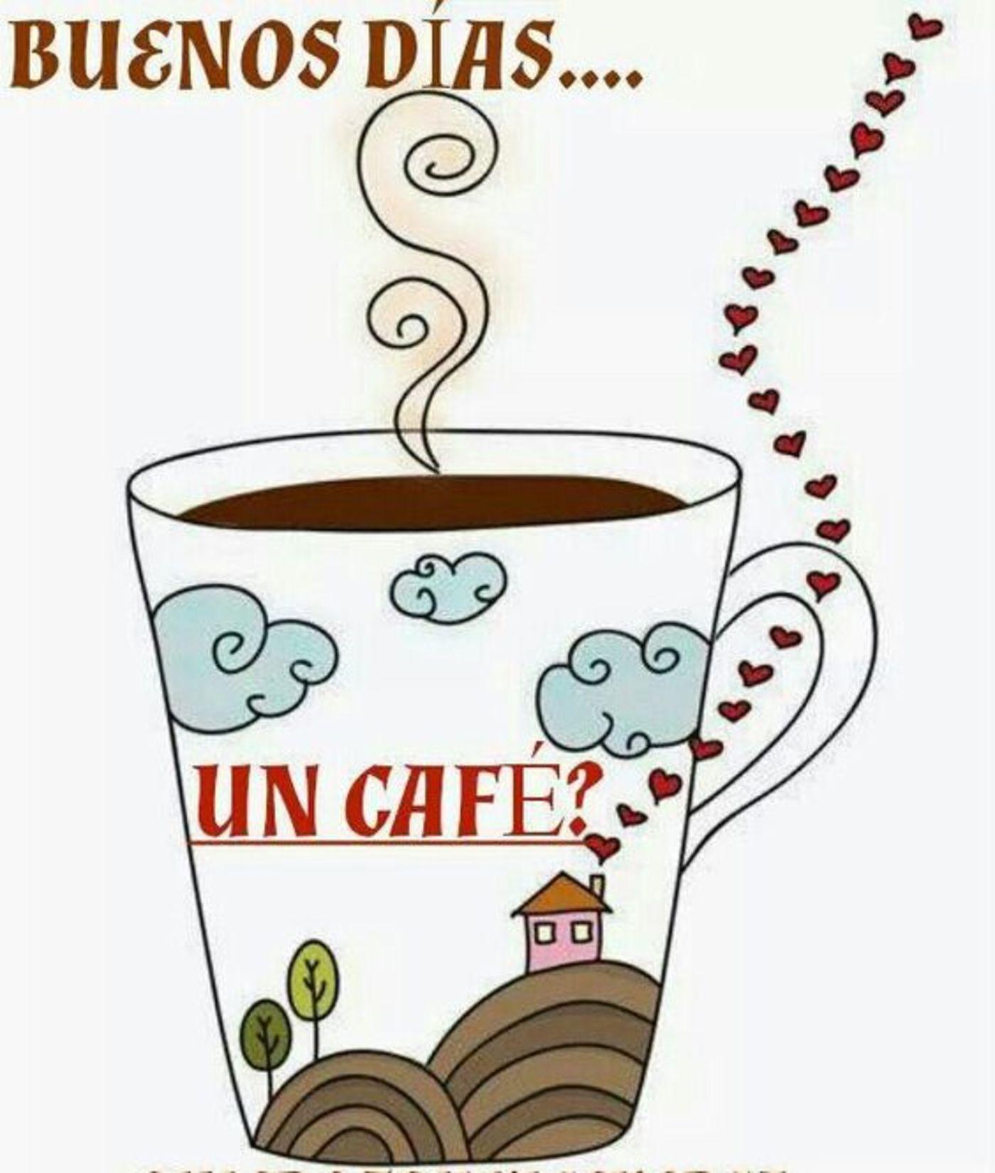 Buenos días, un café?