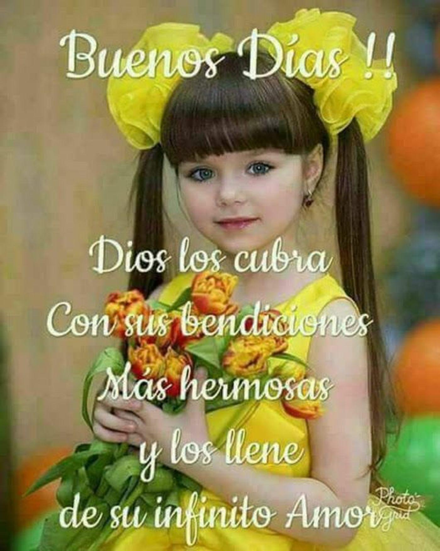 Buenos días! Dios los cubra con sus bendiciones más hermosas y los llene de su infinito amor