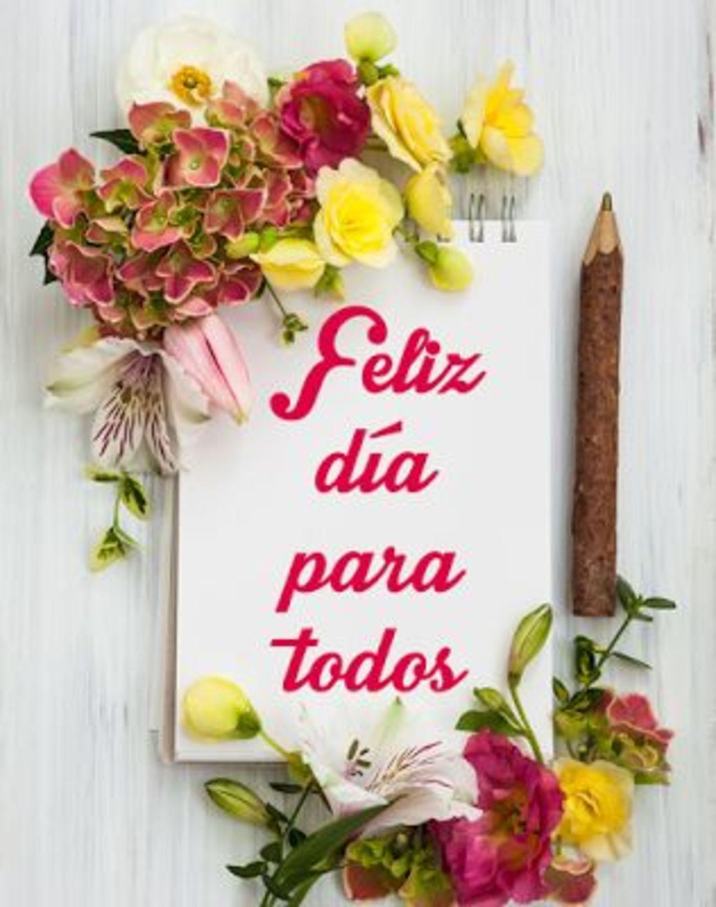 Feliz día para todos
