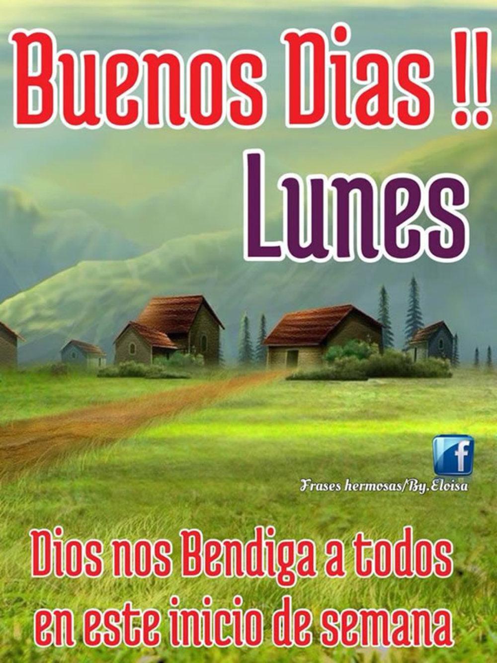 Buenos dias!!! Lunes Dios nos bendiga a todos en este inicio de semana