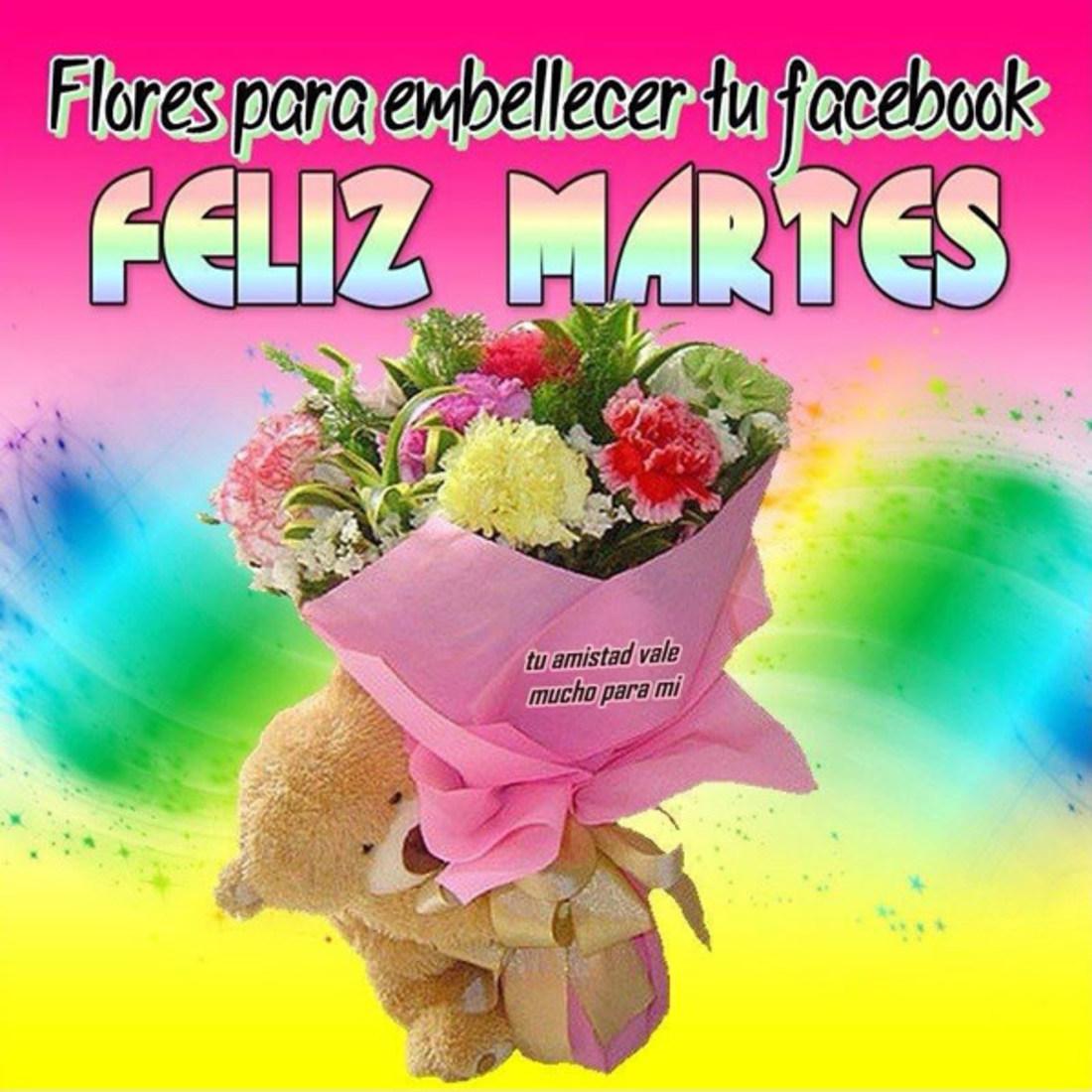 Flores embeceller tu facebook feliz martes