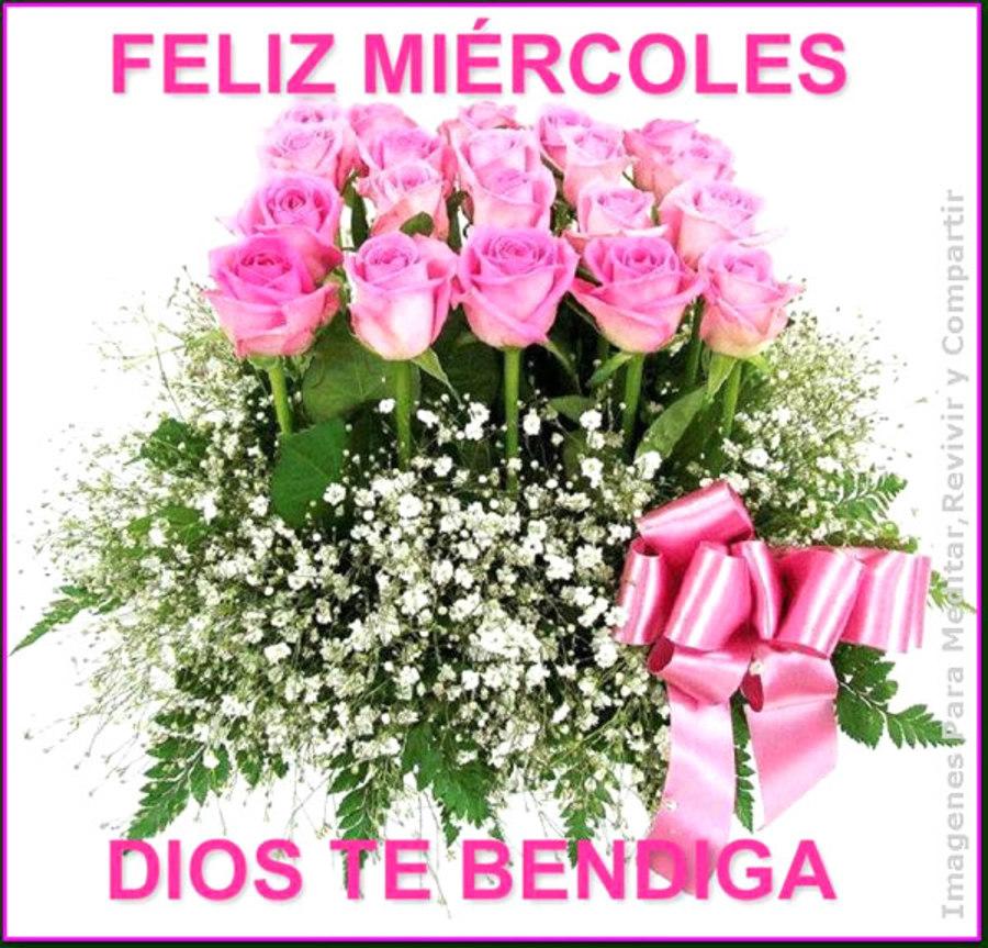 Feliz miércoles Dios te bendiga