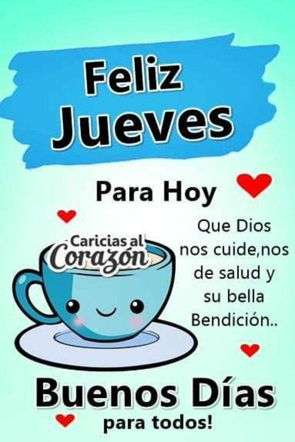 Feliz Jueves para hoy que Dios nos cuide, nos de salud y su bella bendición... Buenos días para todos