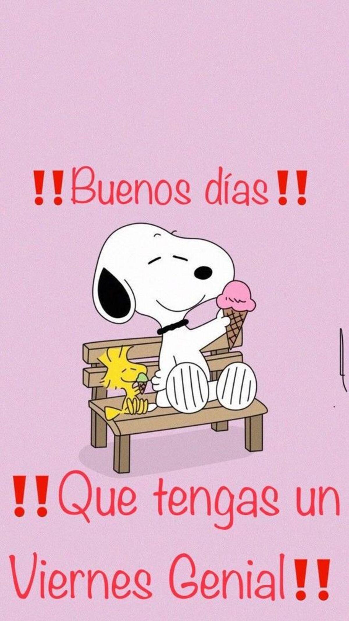 Buenos días!! Que tengas un viernes genial!!