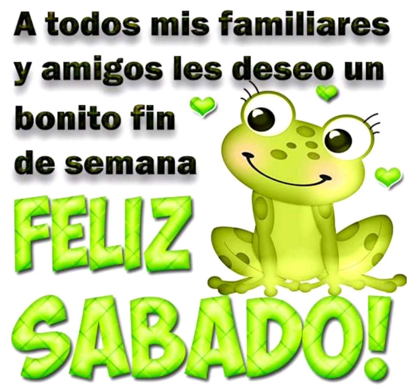 A todos mis familiares y amigos les deseo un bonito fin de semana...Feliz sábado!!