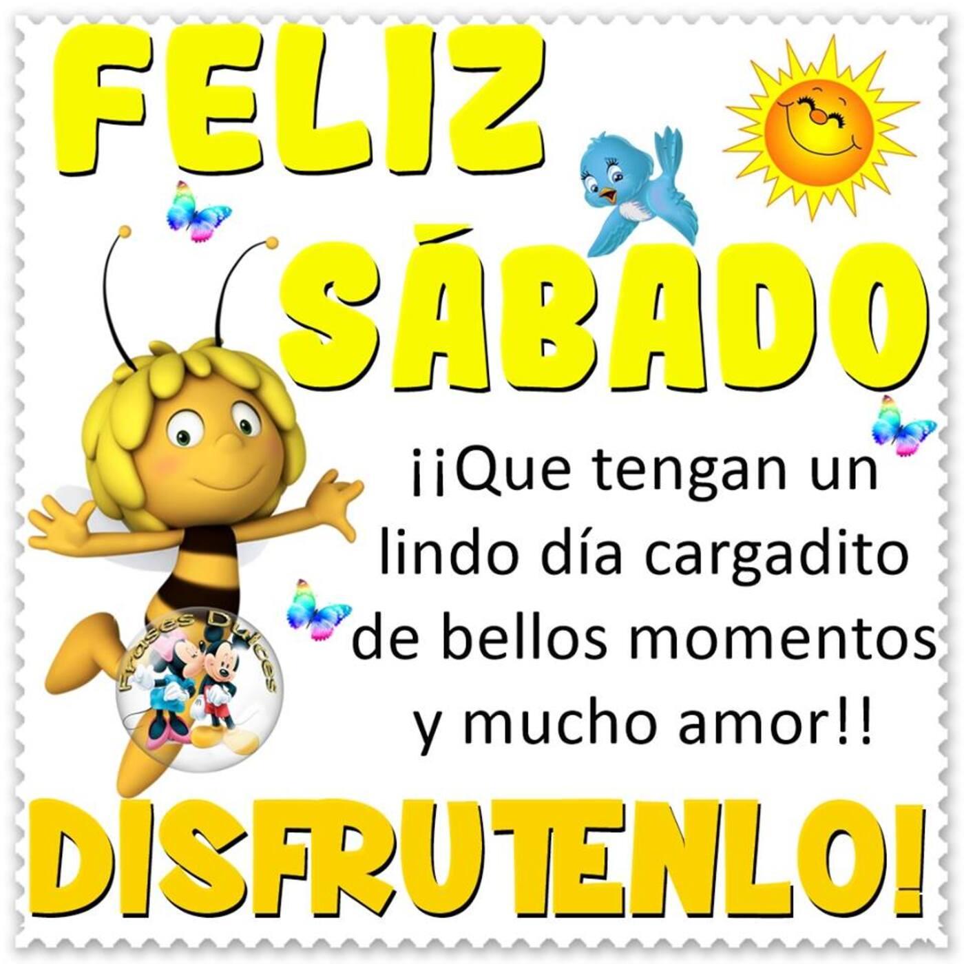 Feliz sábado que tengan un lindo dia cargadito de bellos momentos y mucho amor!! Disfrutenlo