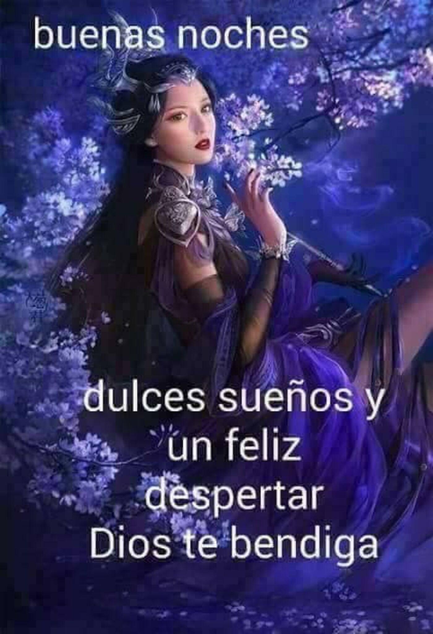 Buenas noches dulces sueños y feliz despertar Dios te bendiga
