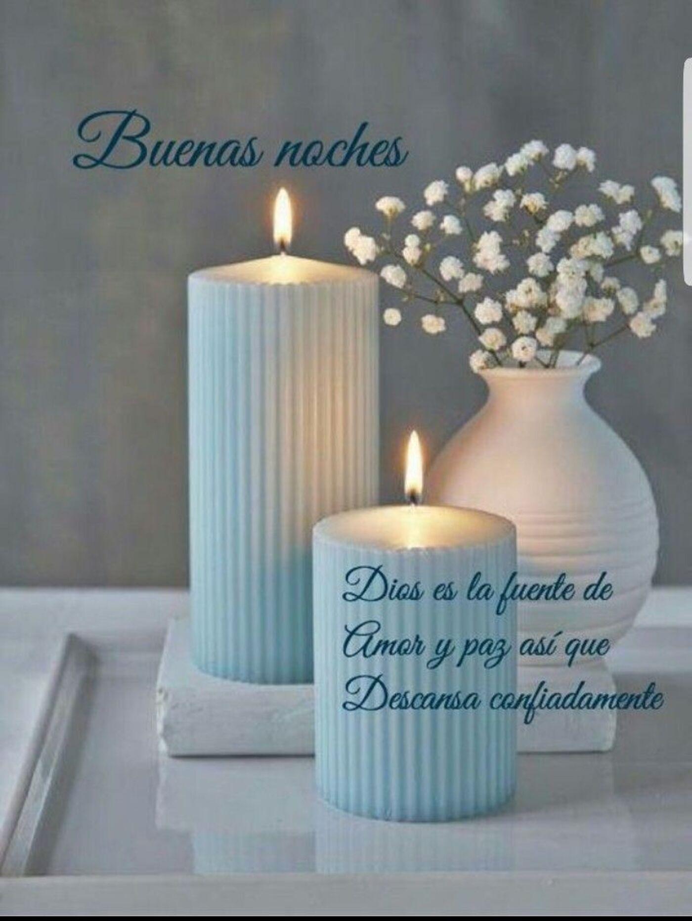 Buenas noches Dios es la fuente de amor y paz así que descansa confiadamente