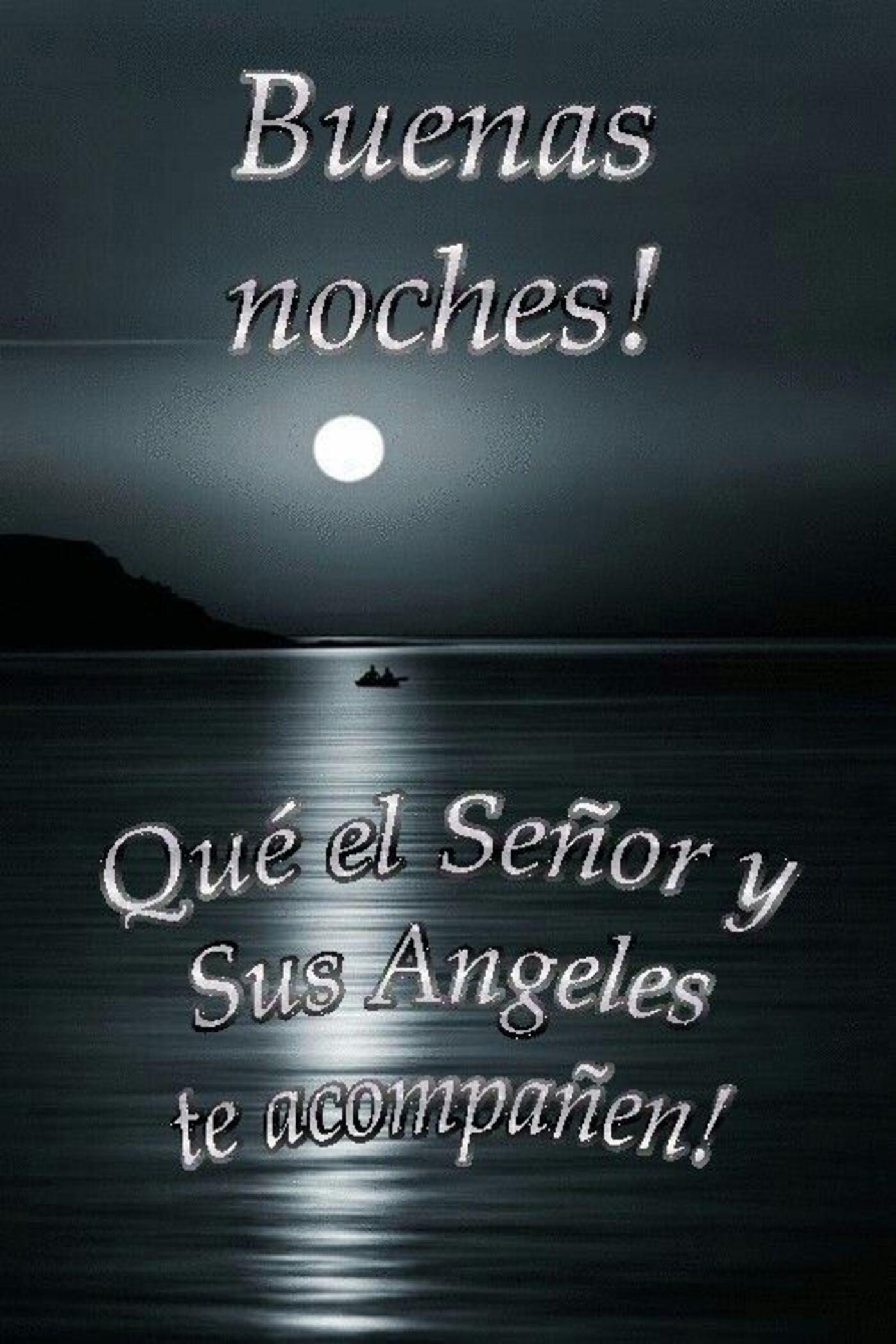 Buenas noches! Que el Señor y sus angeles te acompañen!