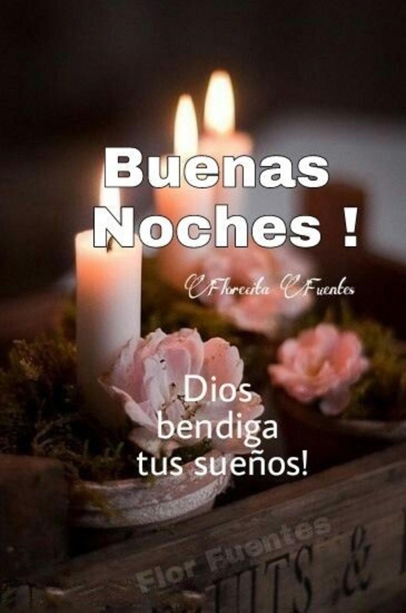 Buenas noches! Dios te bendiga tus sueños