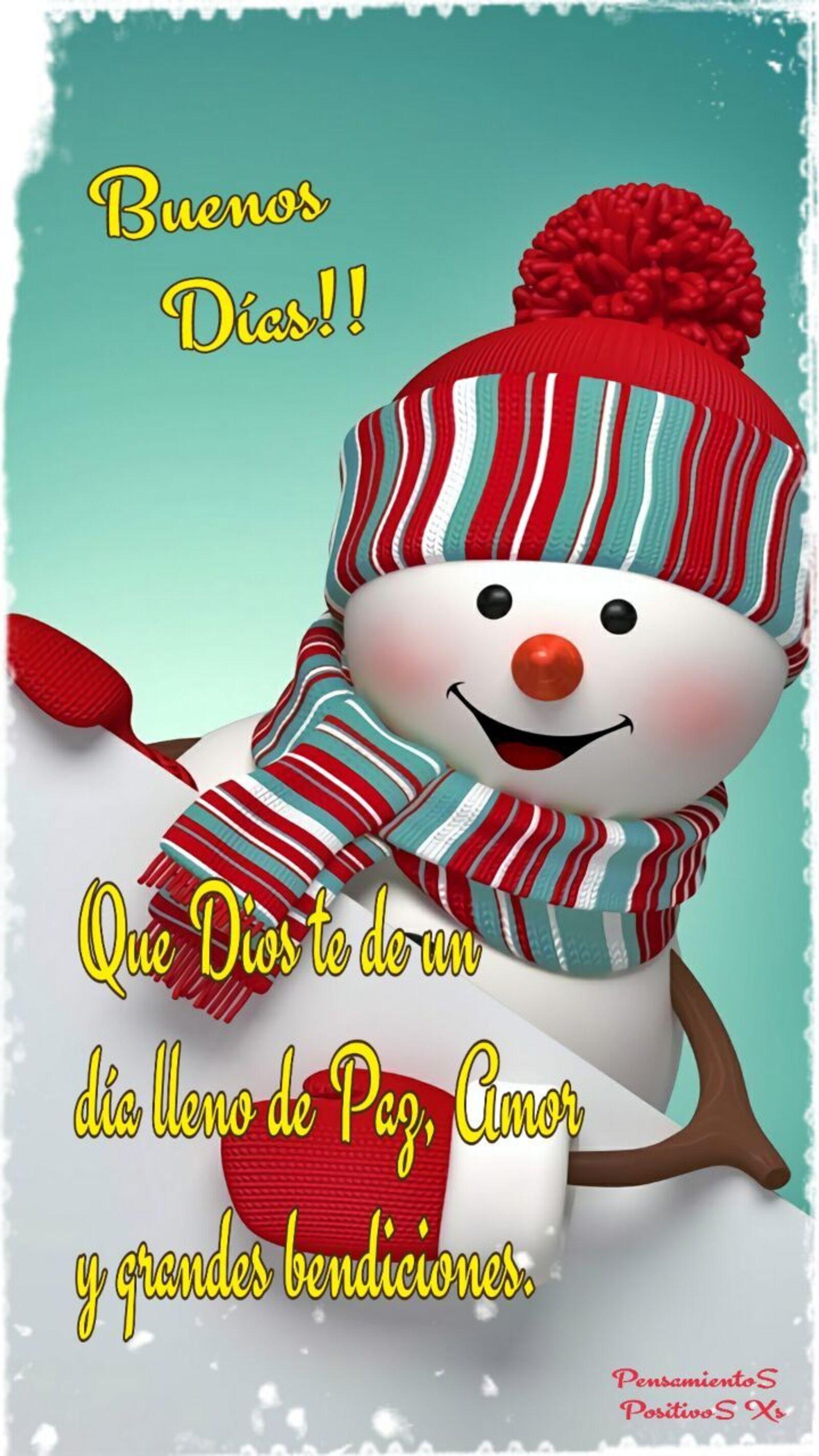 Buenos días que Dios te de un día lleno de paz, amor y grandes bendiciones