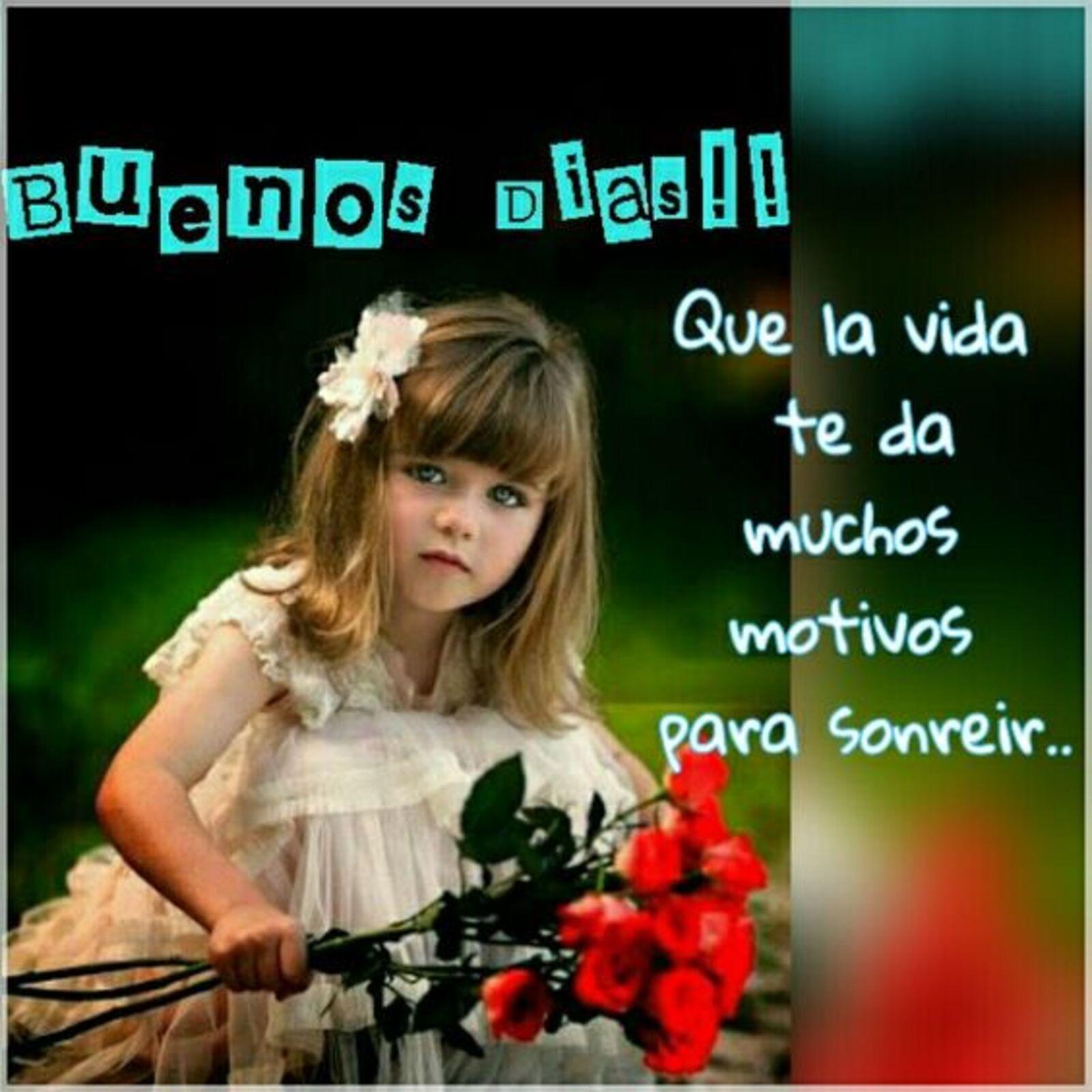 Buenos días!! que la vida te da muchos motivos para sonreir