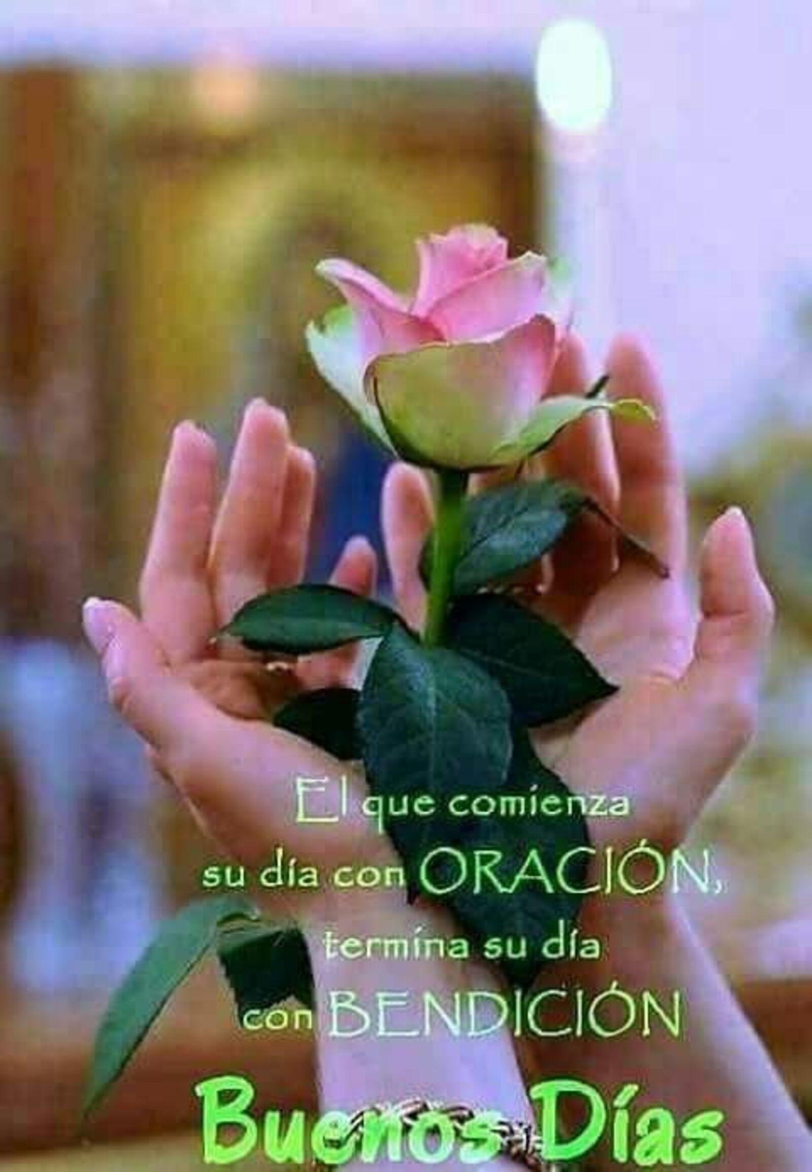 El que comienza su día con oración termina su día con bendición. Buenos días