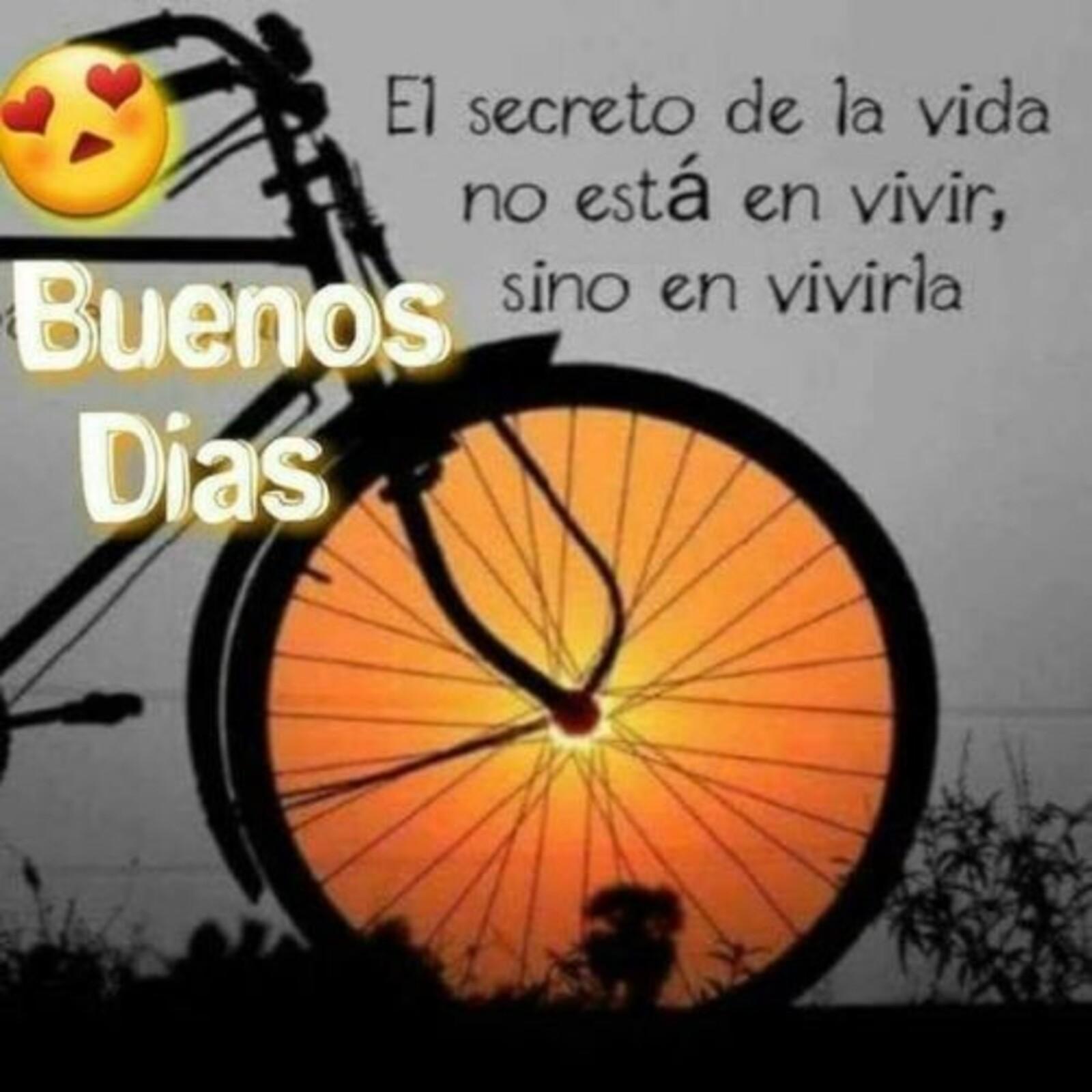 El secreto de la vida, no esta en vivir, sino en vivirla! Buenos días