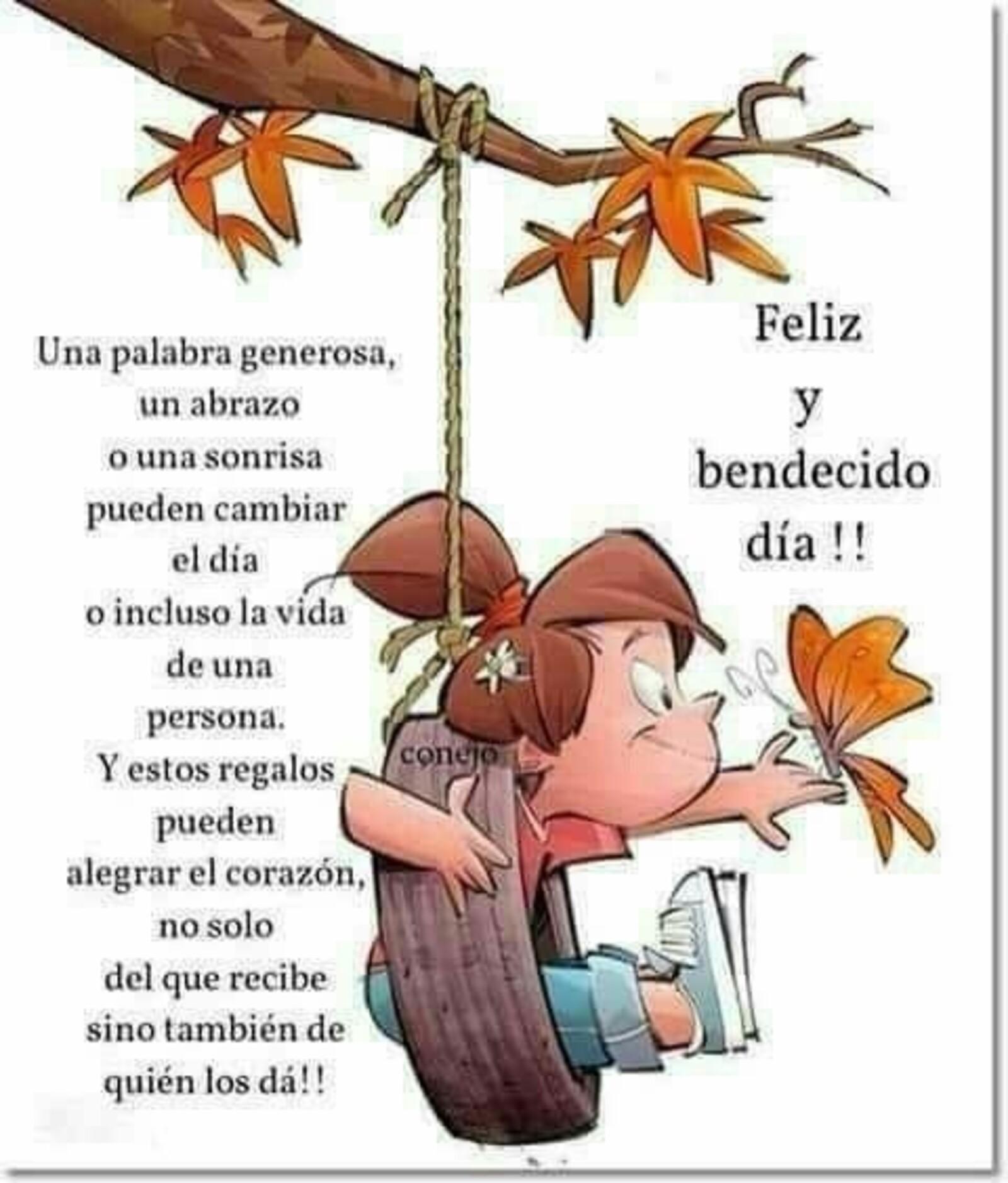 Feliz y bendecido día!!