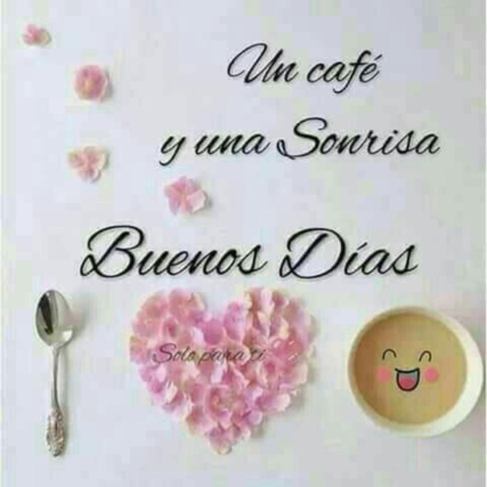 Un café y una sonrisa...Buenos días