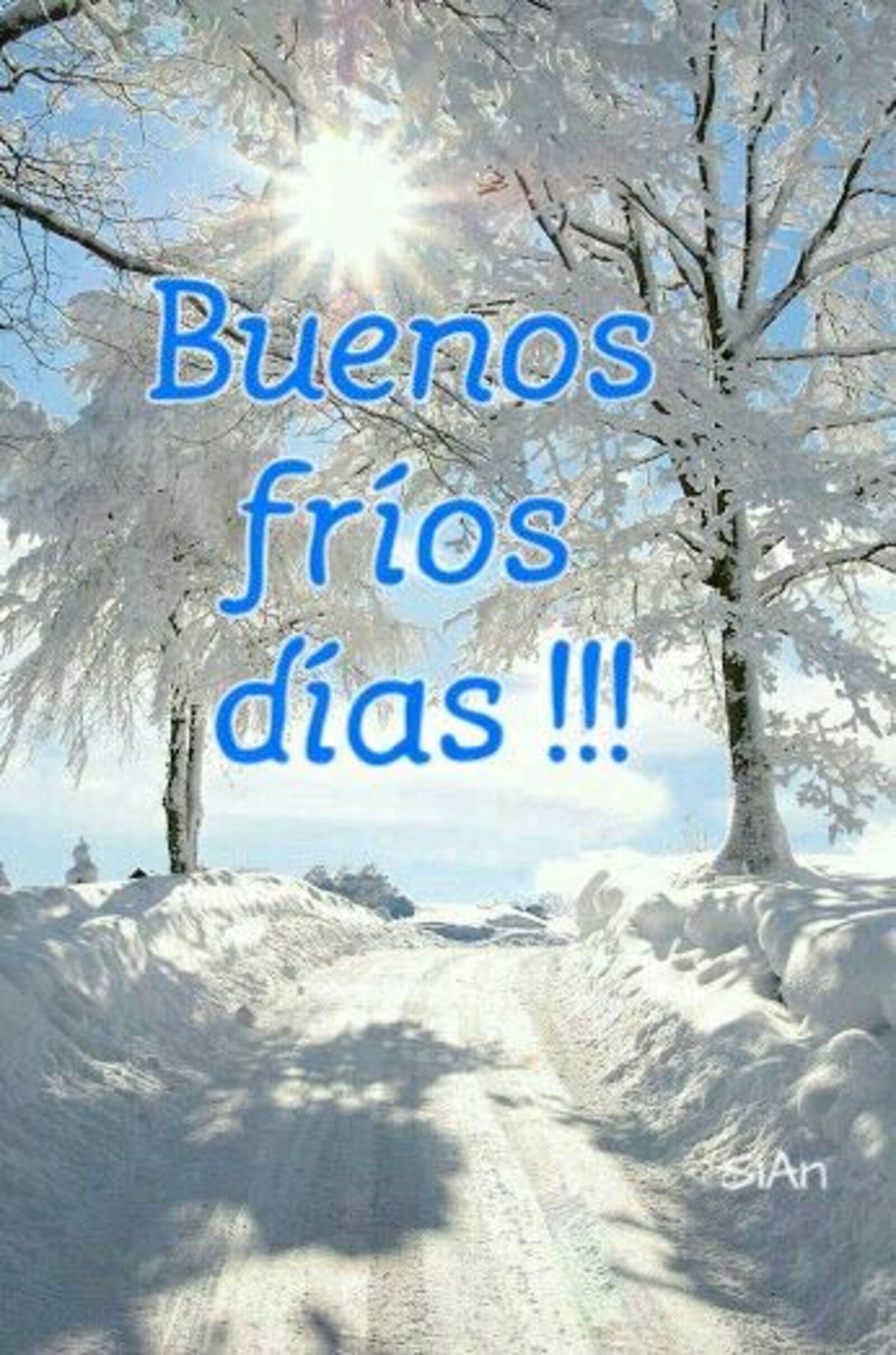 Buenos frios días!!