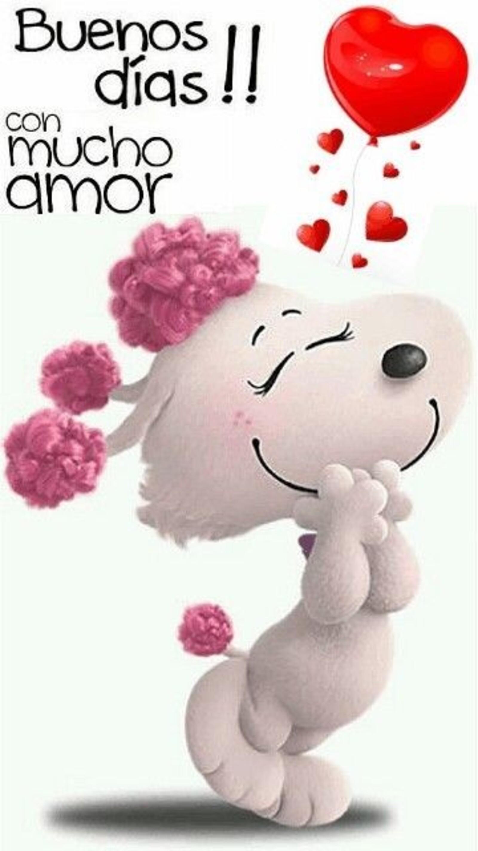 Buenos días!! con mucho amor