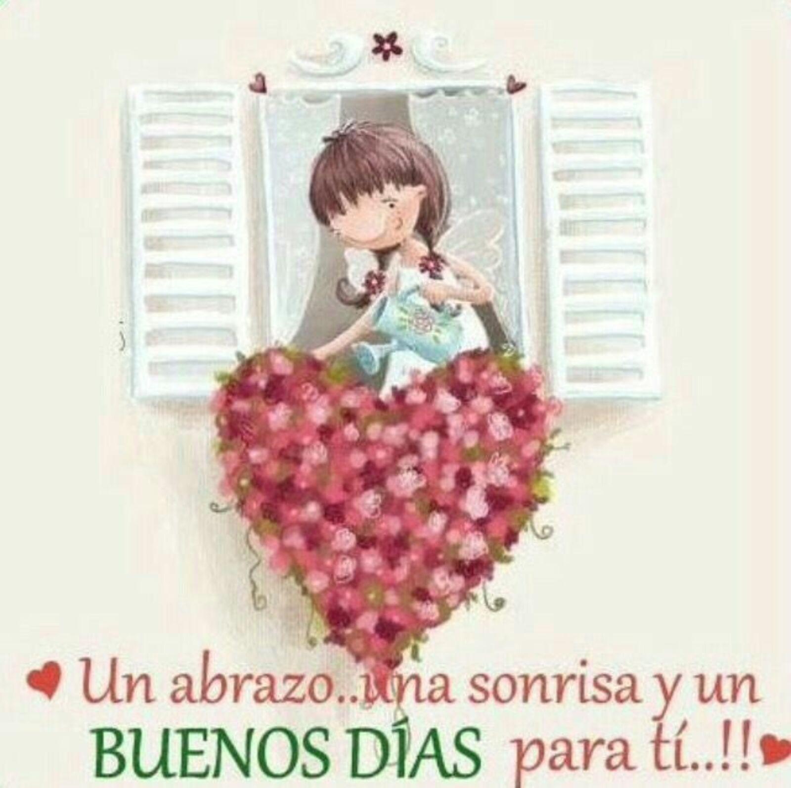 Un abrazo...una sonrisa y un buenos días para ti!!!