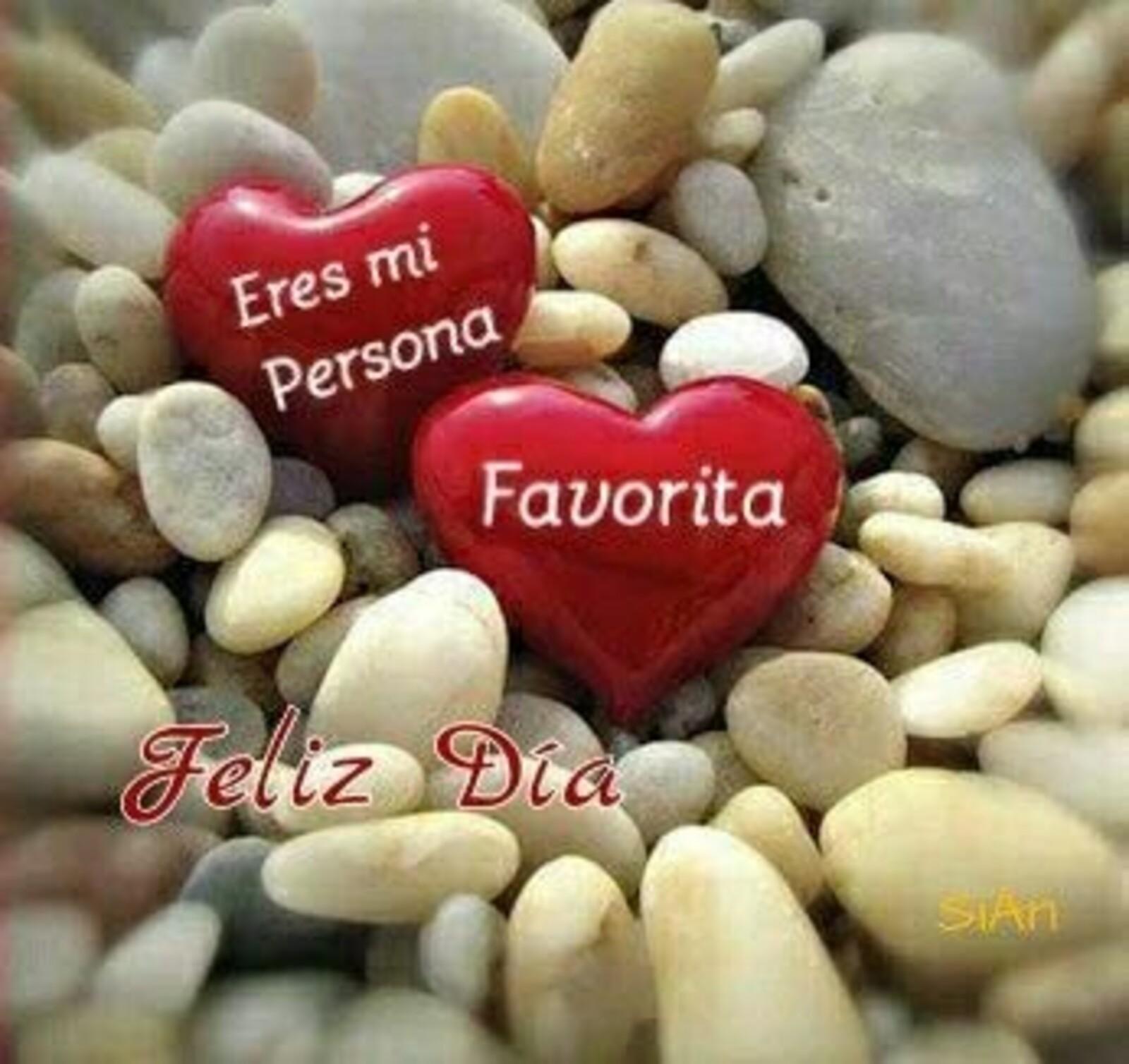 Eres mi persona favorita.. feliz día