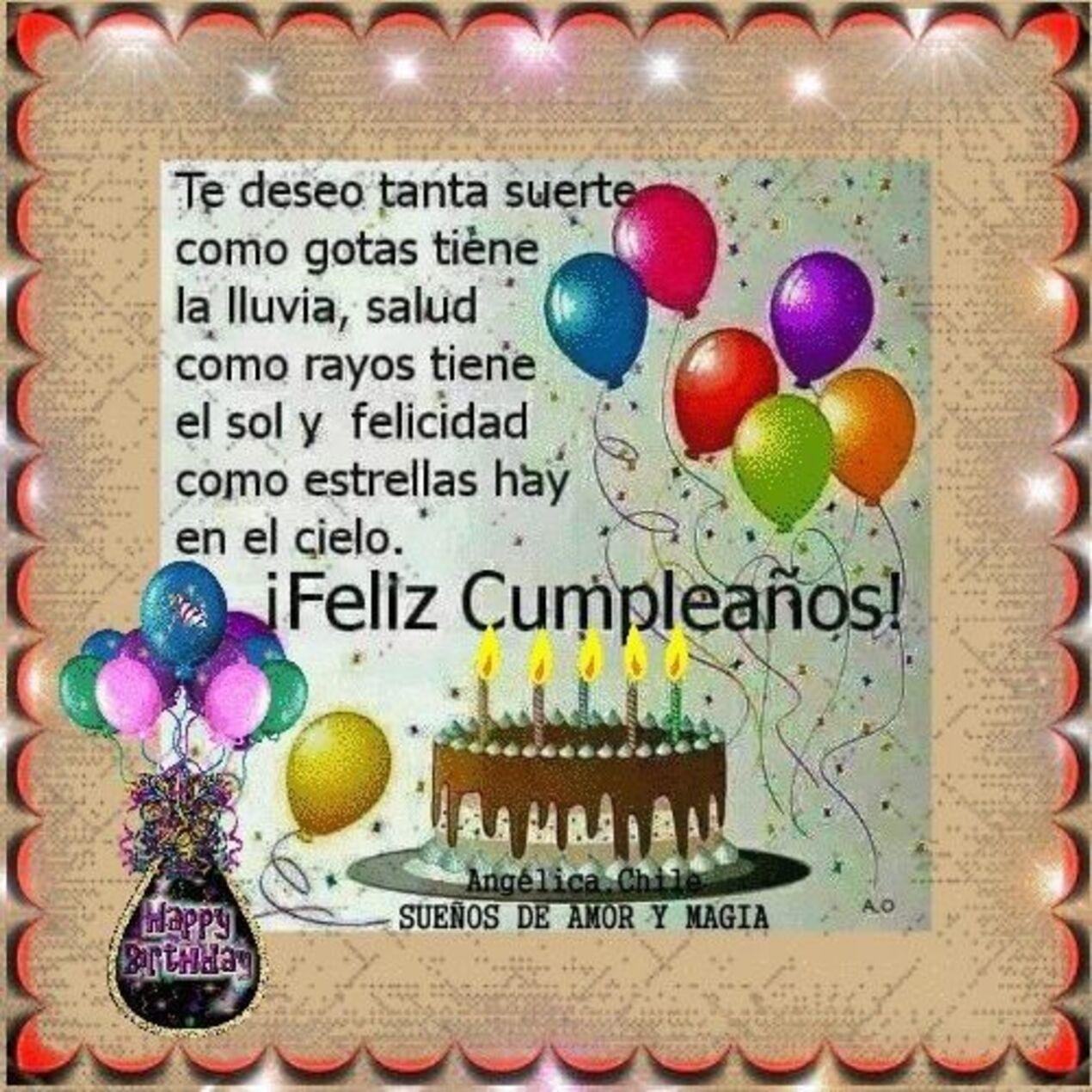 Feliz Cumpleaños imágenes mensajes frases para amigos - Página 3 de 10 -  HermosasImagenes.net