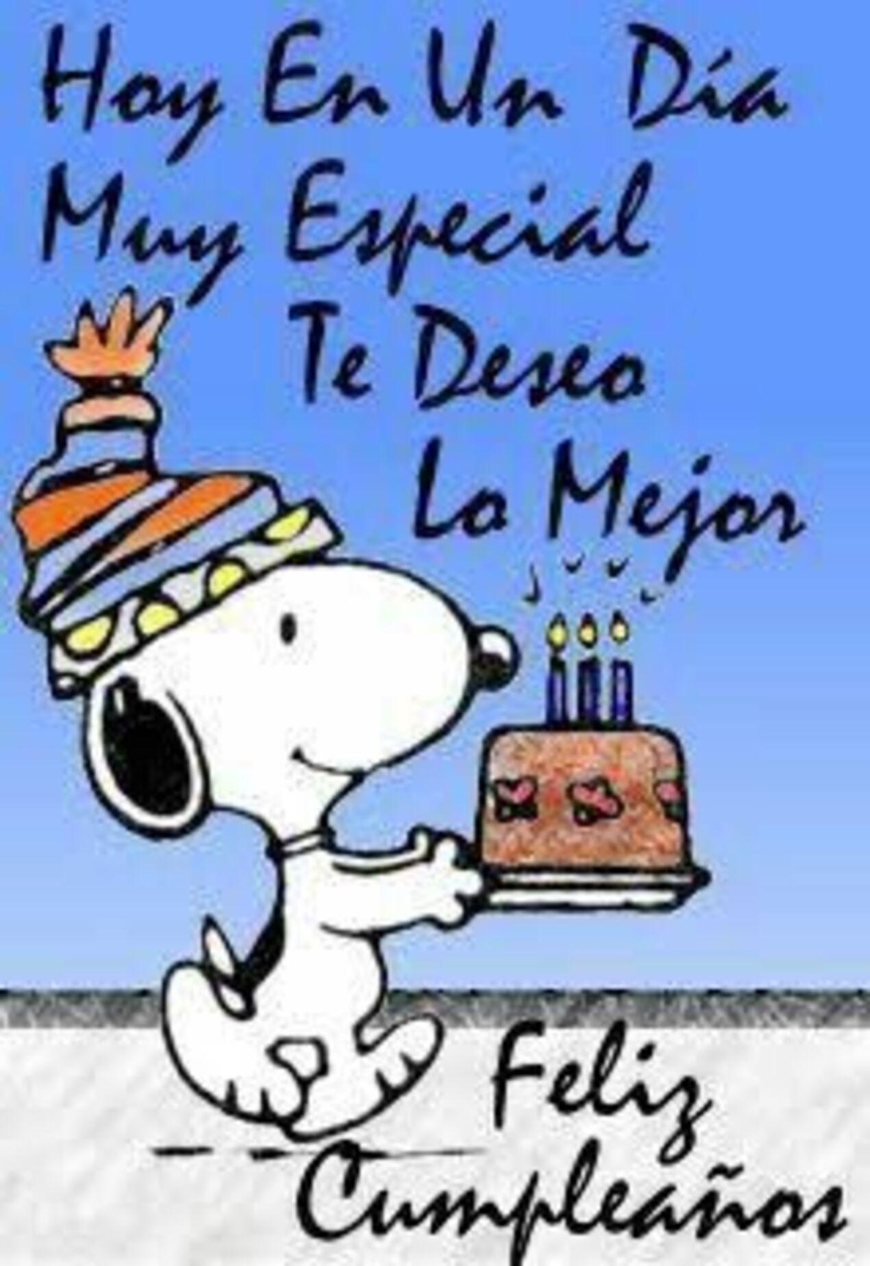 Hoy en un dia muy especial te deseo lo mejor feliz cumpleanos