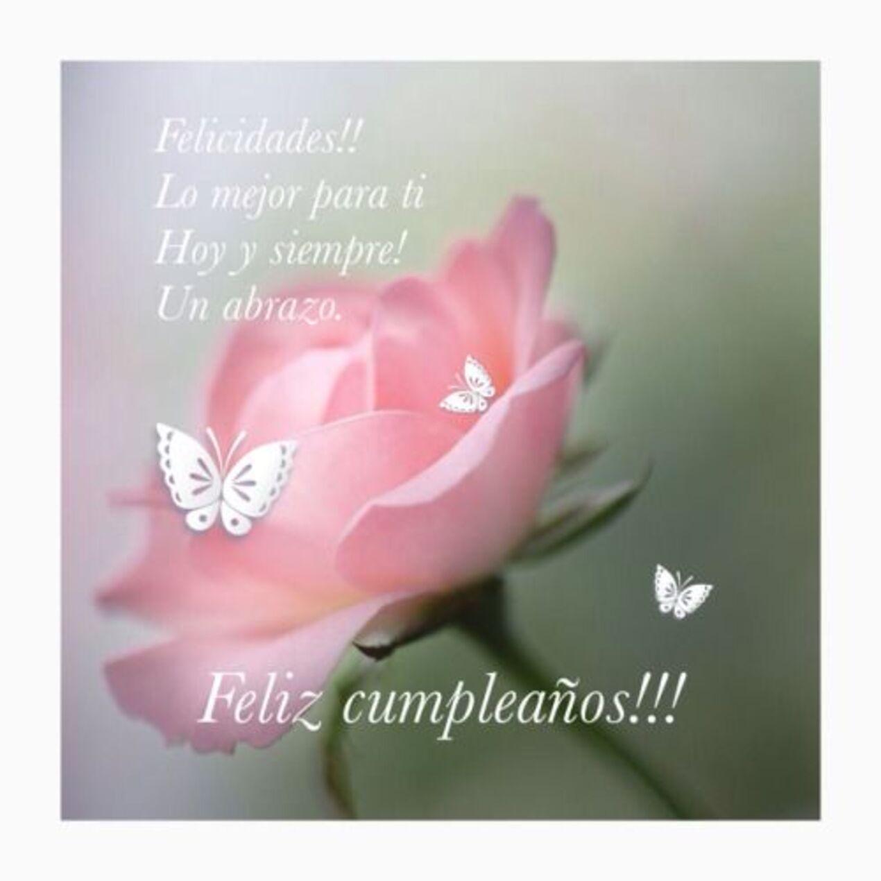 Felicidades!! Lo mejor para ti hoy y siempre! Un abrazo! Feliz cumpleaños!