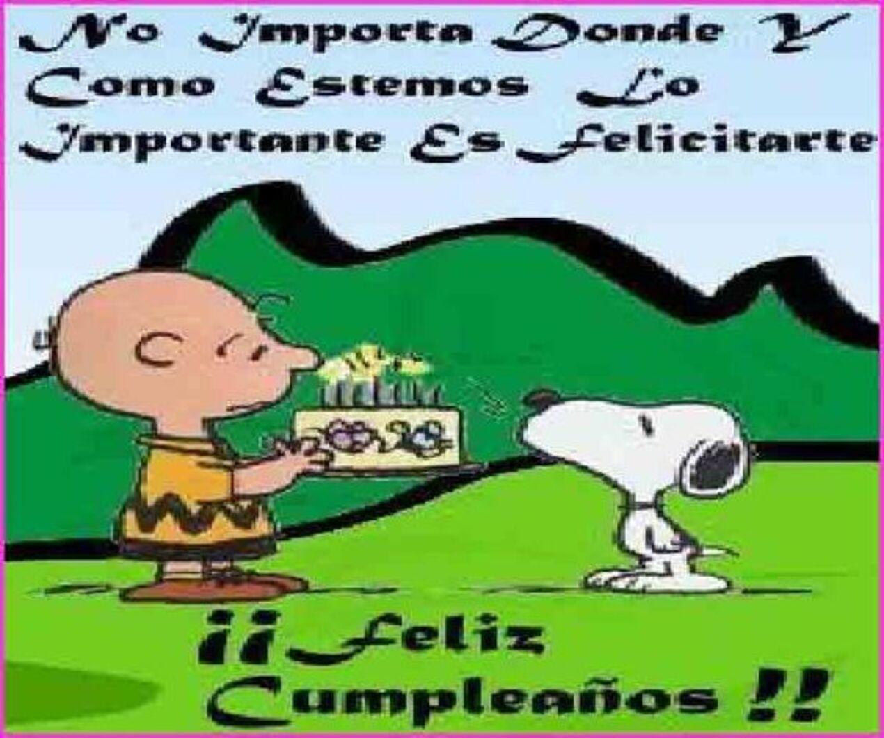 No importa dónde y cómo estamos lo importante es felicitarte!! Feliz cumpleaños