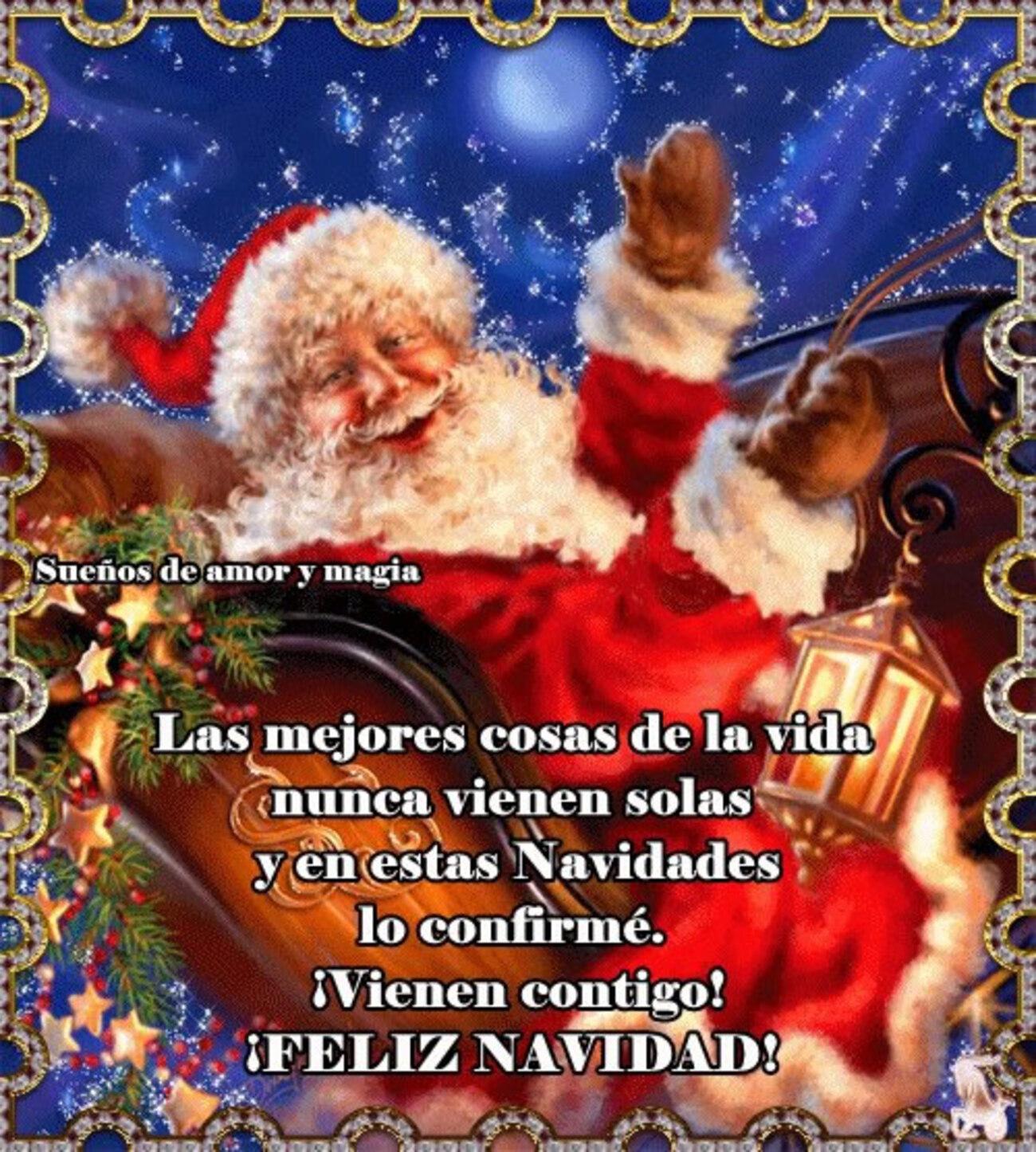Las mejores cosas de la vida nunca vienen solas y en estas Navidades lo confirmé. Vienen contigo! Feliz Navidad!
