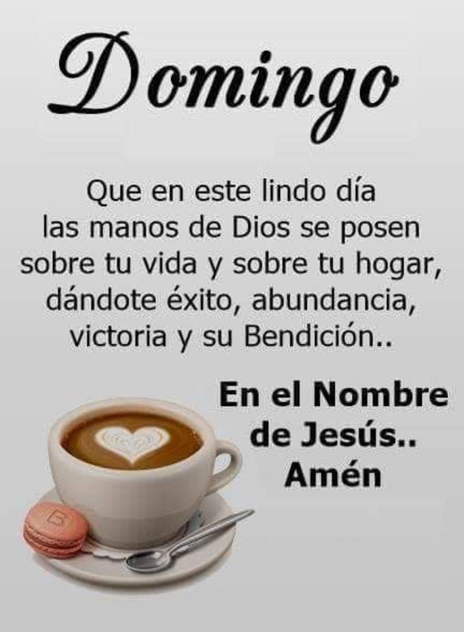 Domingo con Dios