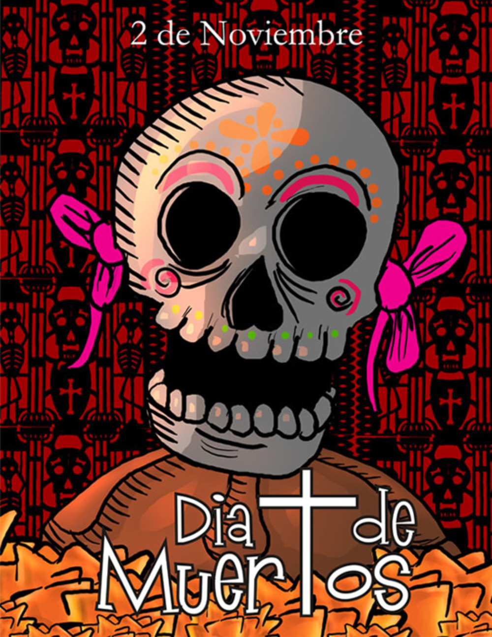 2 Noviembre Dia de Muertos