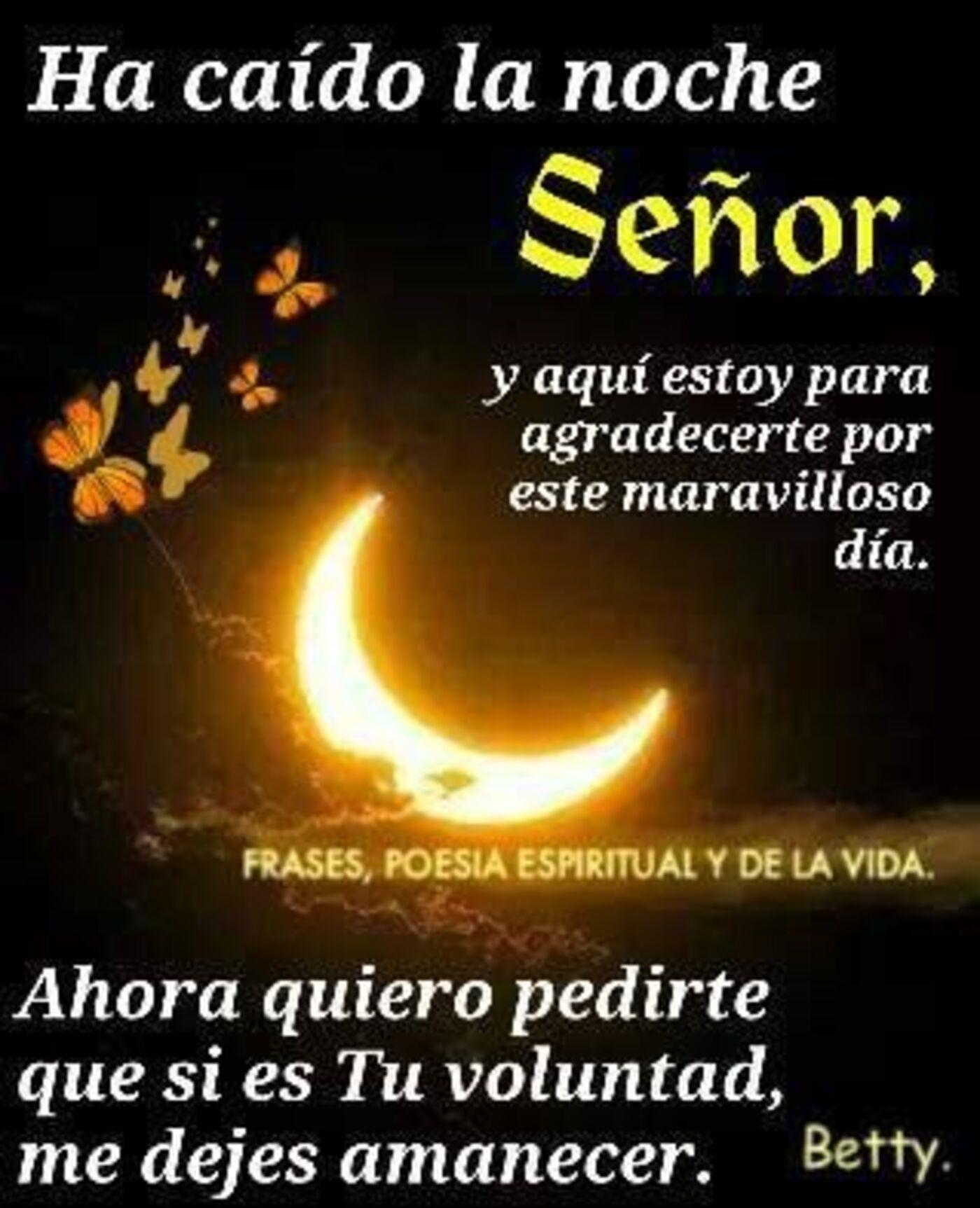 Buenas noches con el Señor