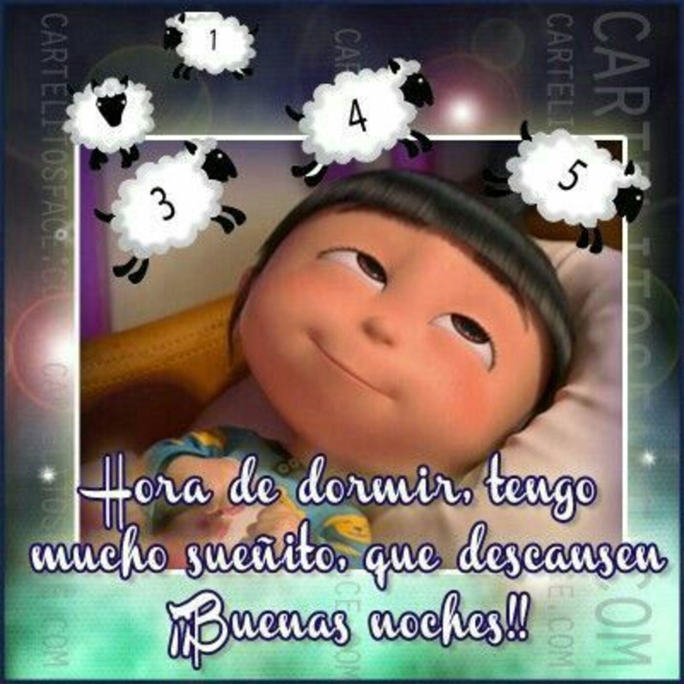 Hora de dormir, tengo mucho sueñito, que descansen!! Buenas Noches!
