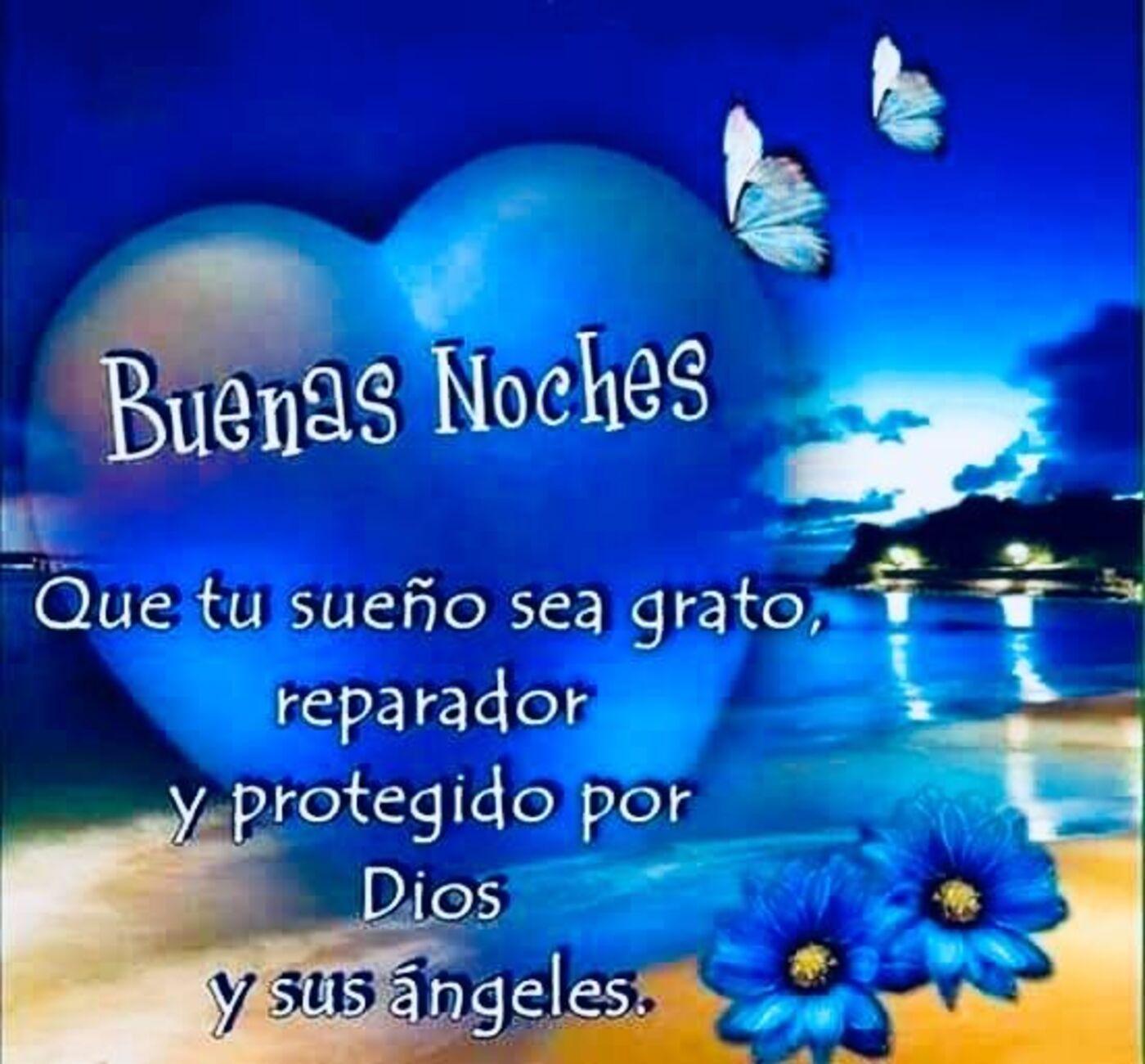 Buenas noches que tu sueño sea grato, reparador y protegido por Dios y sus angeles