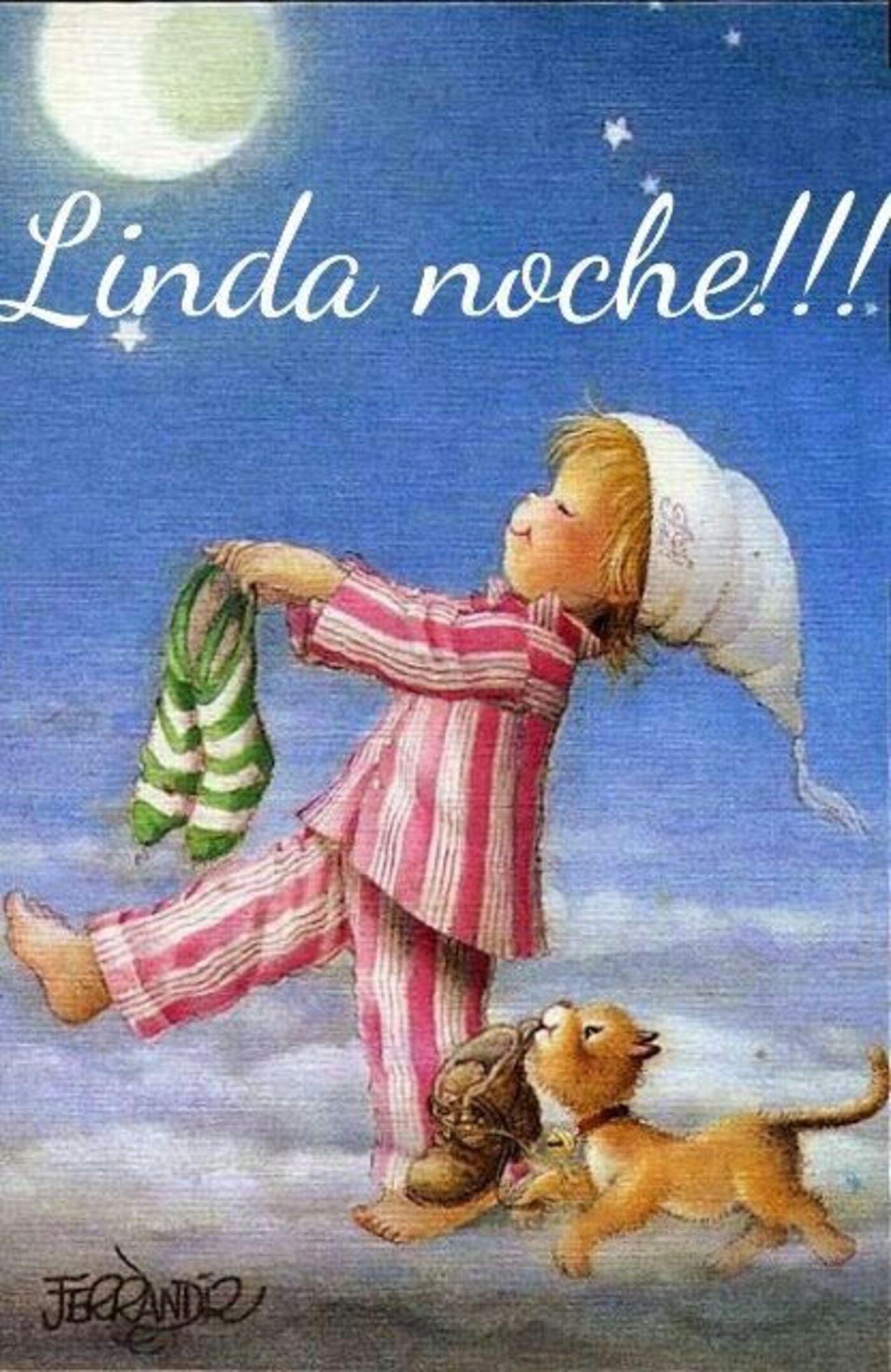 Linda noche!!