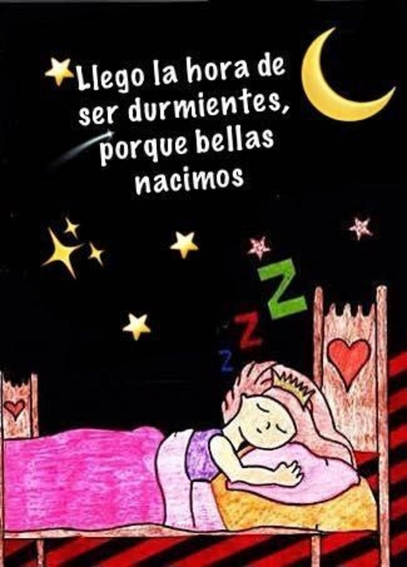 Llego la hora de ser durmientes, porque bellas nacimos
