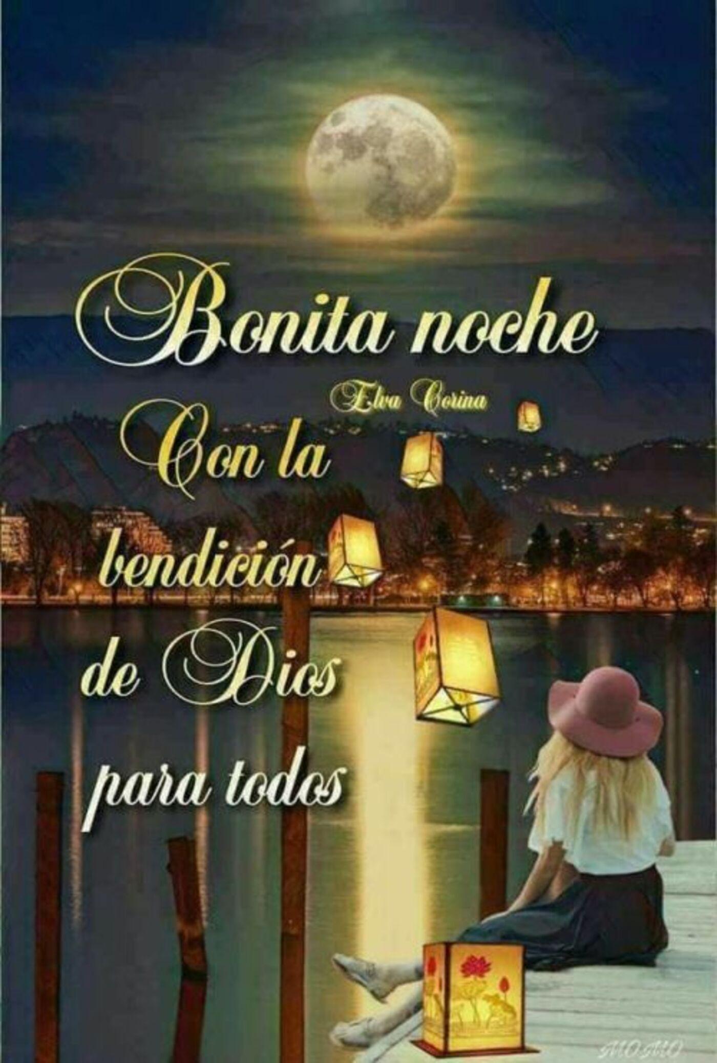 Bonita Noche, con la bendición de Dios para todos