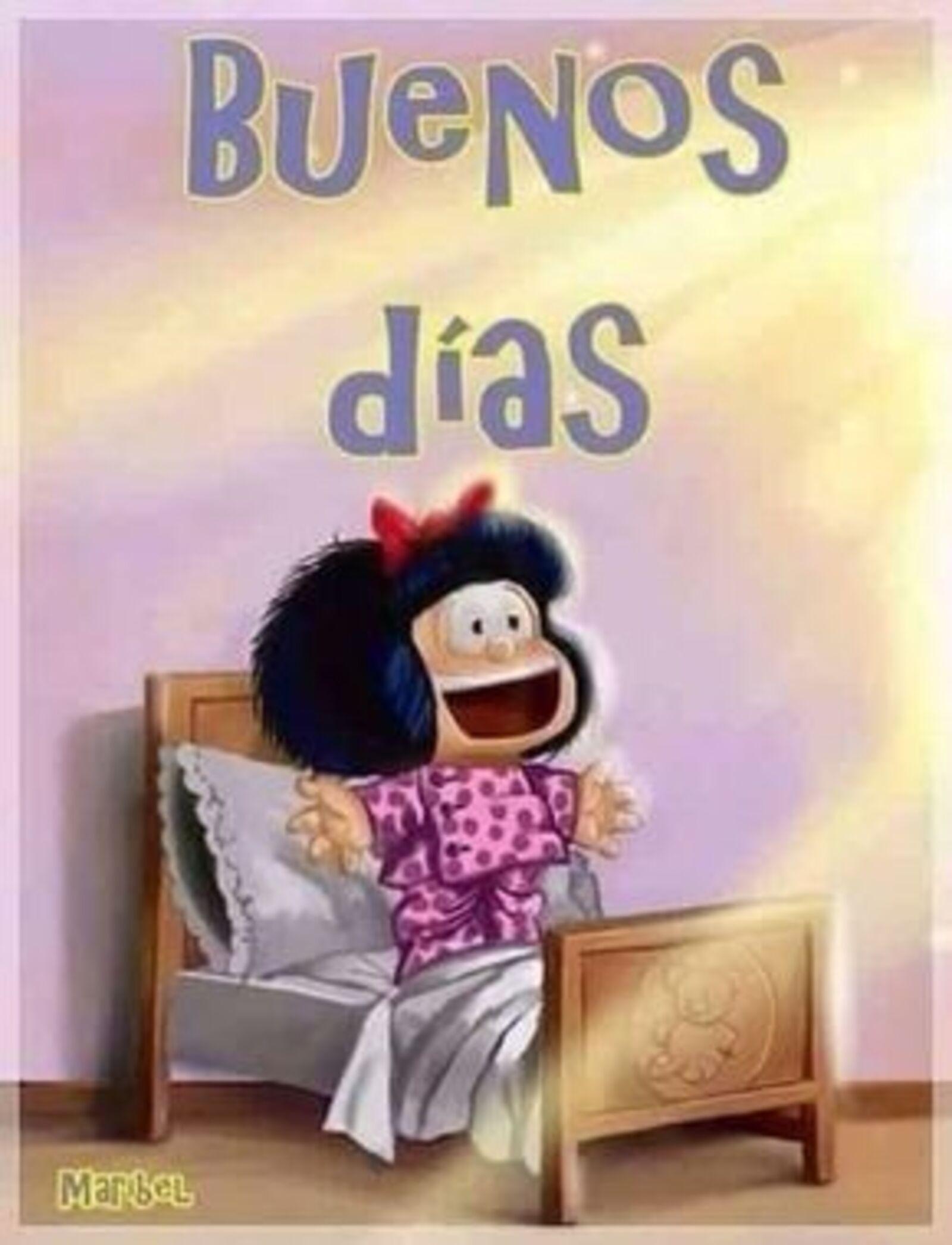"""Buenos Días"" - Mafalda"
