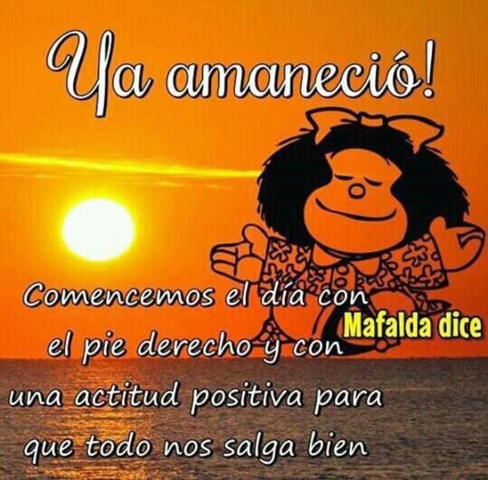ya amaneció! - Mafalda