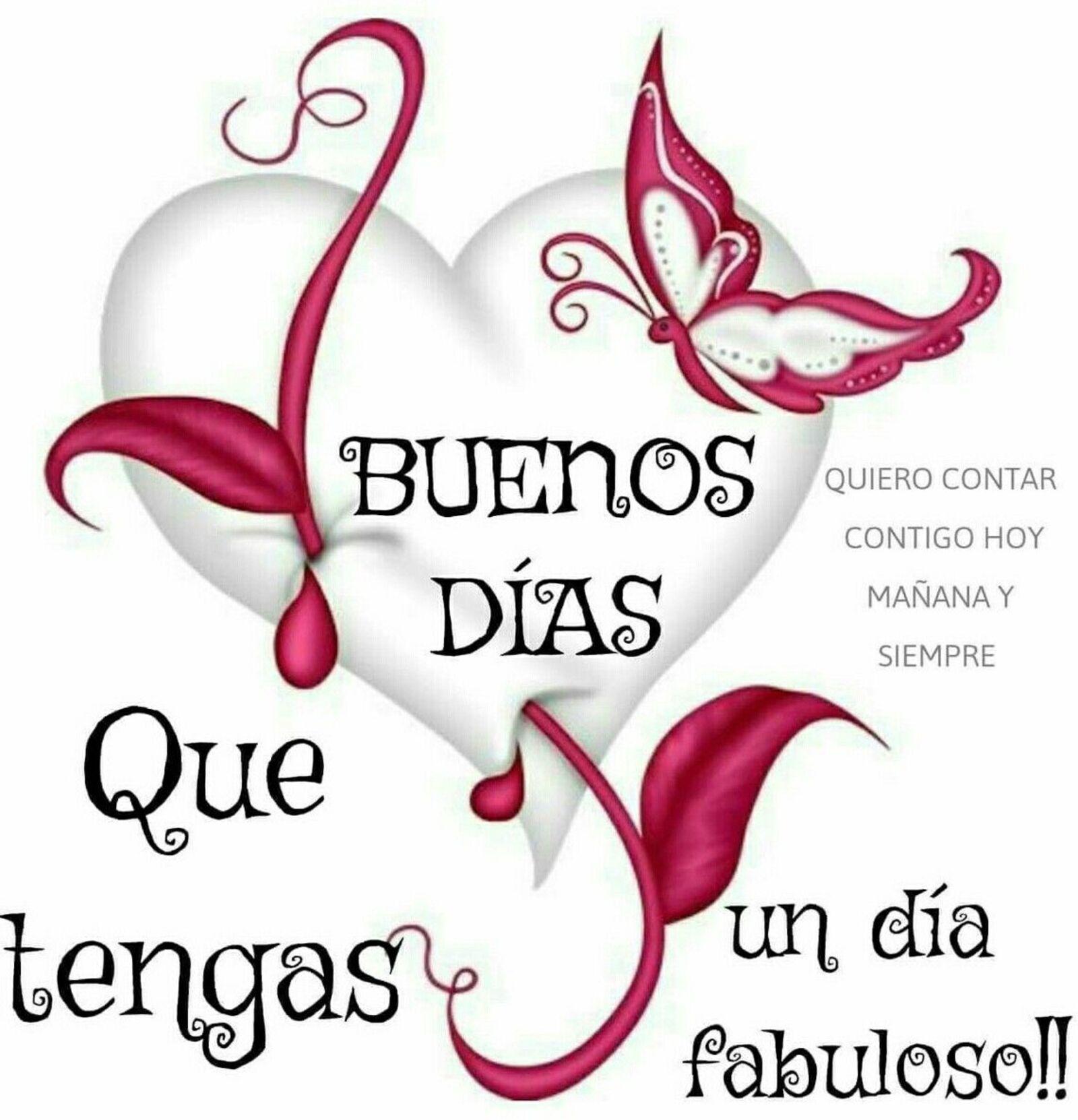 Buenos días, que tengas un día fabuloso !!