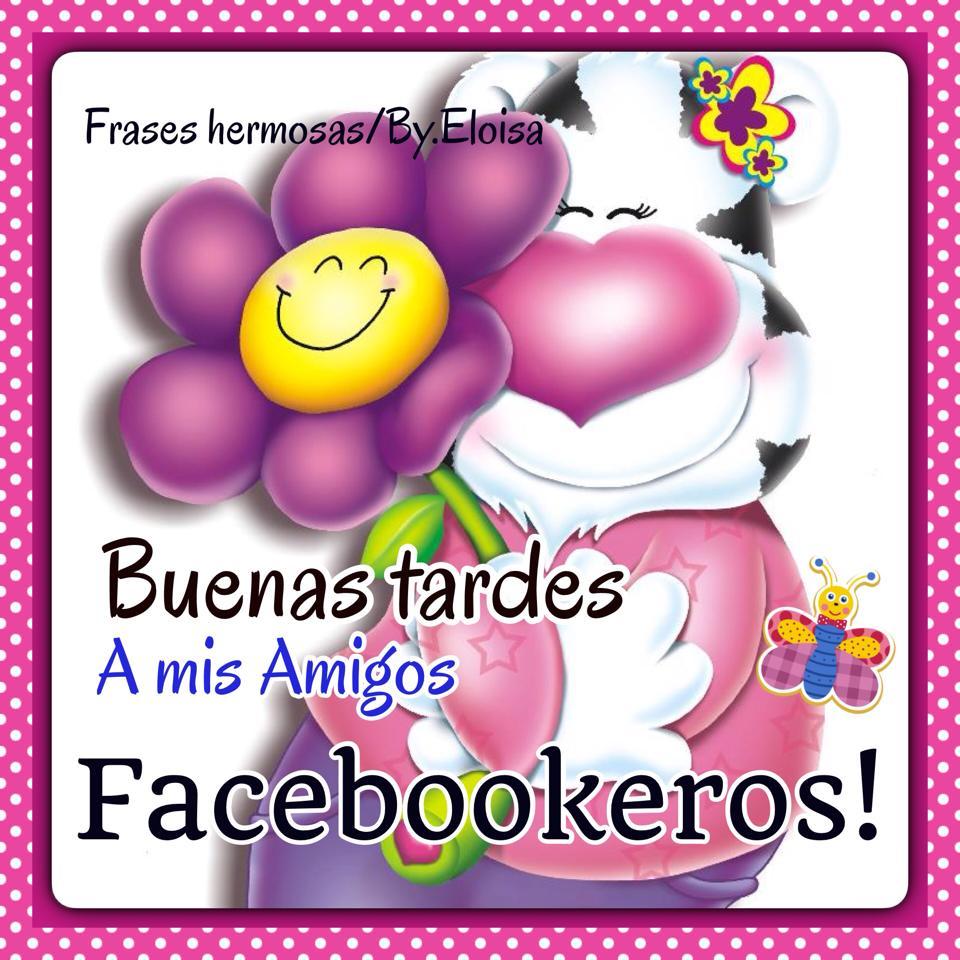 Buenas Tardes a mis amigos facebookeros !