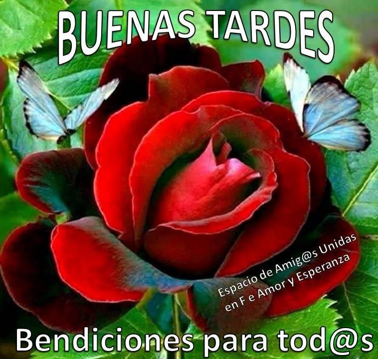 Buenas Tardes, Bendiciones para todos