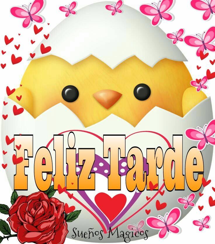 """""""Feliz Tarde"""" - Postales para Facebook"""