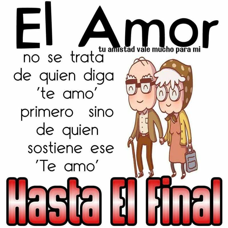 El Amor no se trata de quien diga te amo primero, sino de quien sostiene ese te amo HASTA EL FINAL.